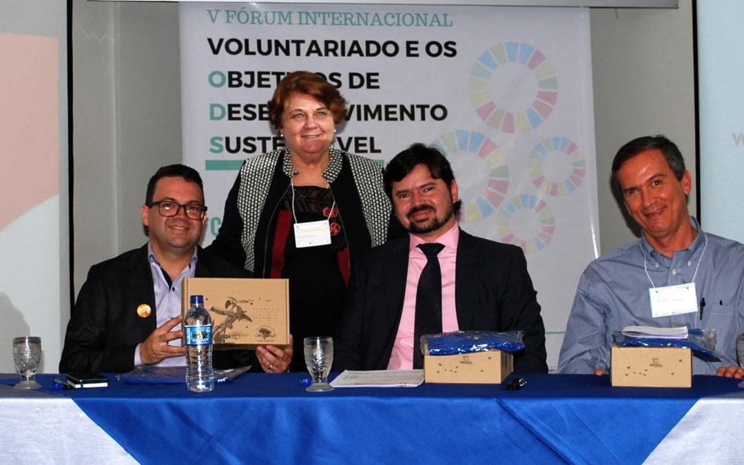 V Fórum Internacional voluntariado e os objetivos de desenvolvimento sustentável