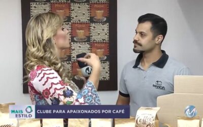 Cafés do Brasil Club no programa mais estilo Record Minas