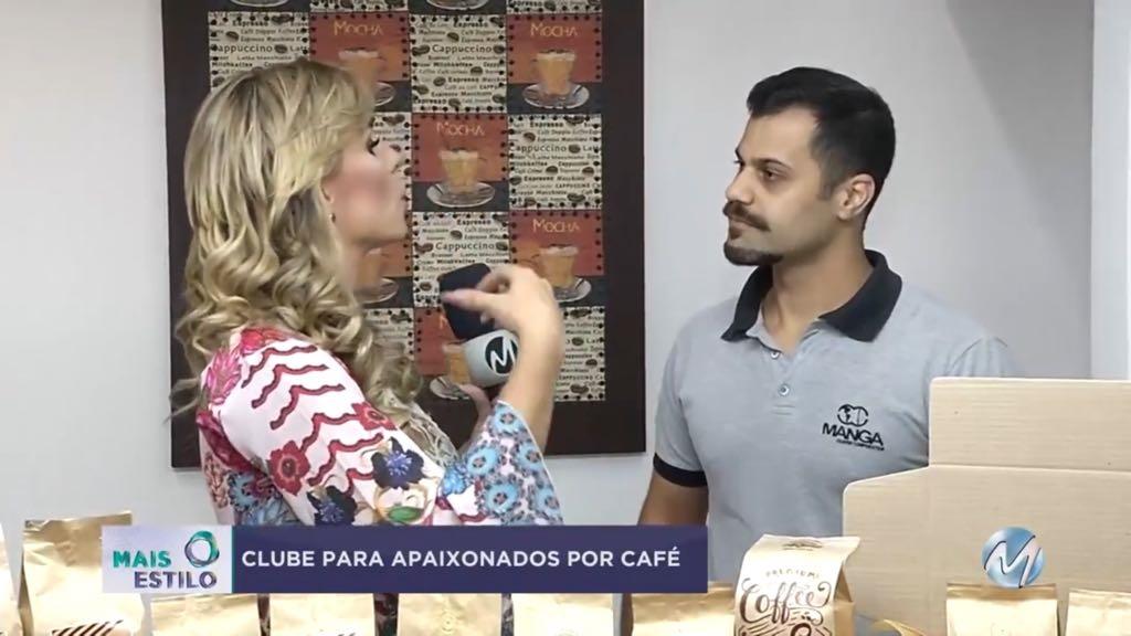 Cafés do Brasil Club no programa mais estilo Record Minas